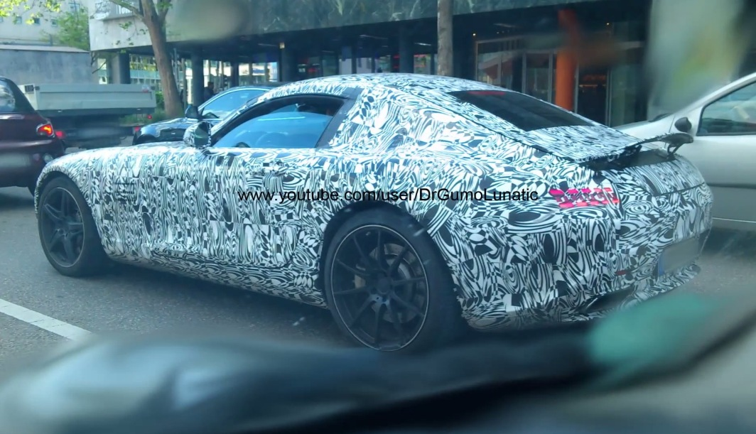 12 Video Shows Mercedes Benz AMG GT Near Stuttgart