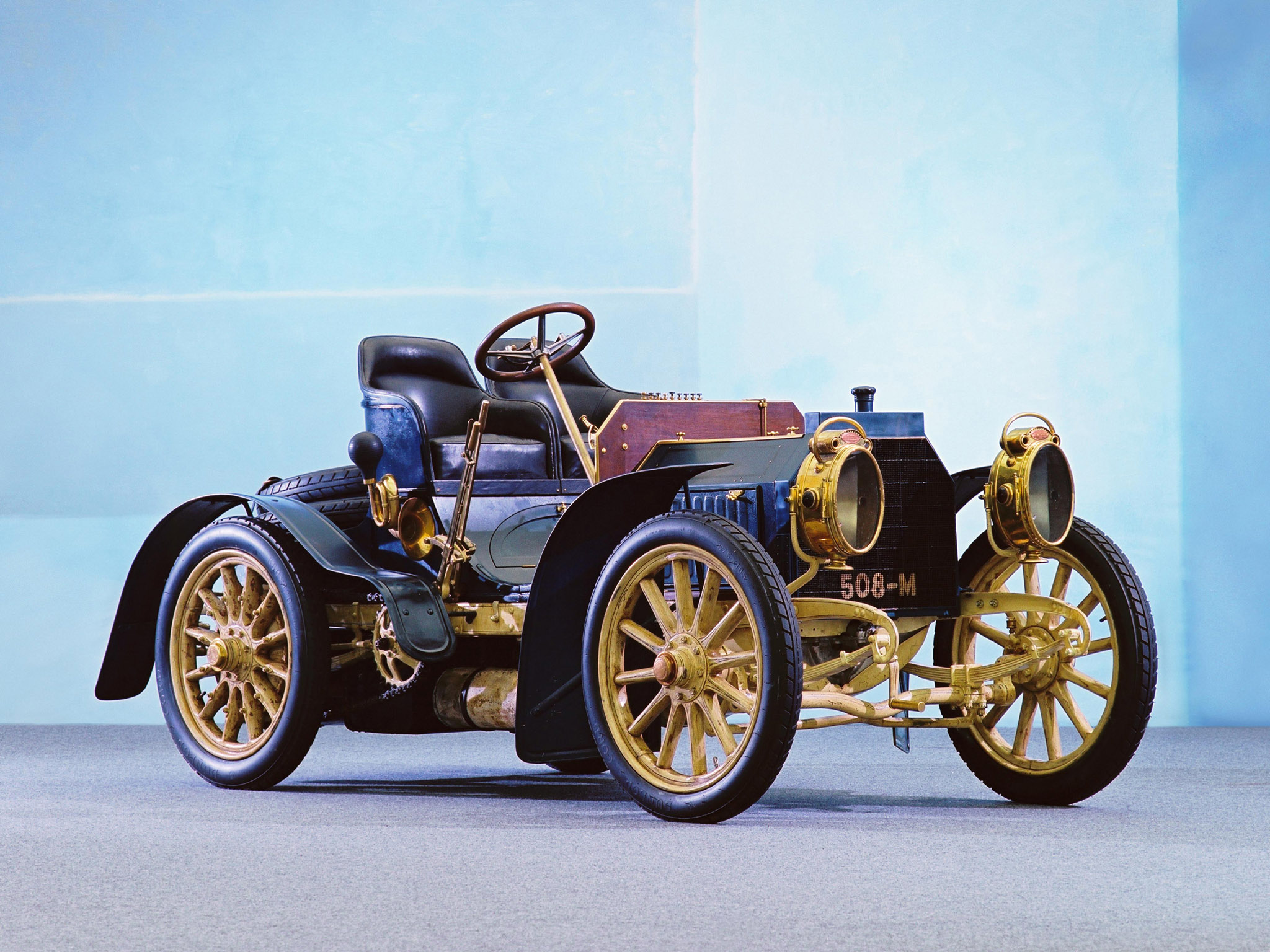 1901 Mercedes 35 HP The Mercedes 35 HP — The First of a Superior Breed