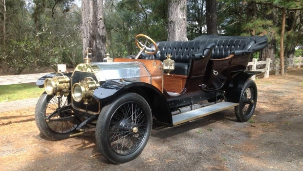 1909 Mercedes Model Forty Classic Mercedes Models Will Hit the Auction Block on July