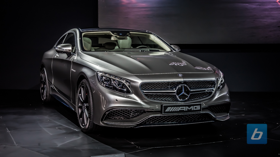 2015 Mercedes S63 AMG Coupe 4 2015 Mercedes S63 AMG Coupe Unveiling Photos