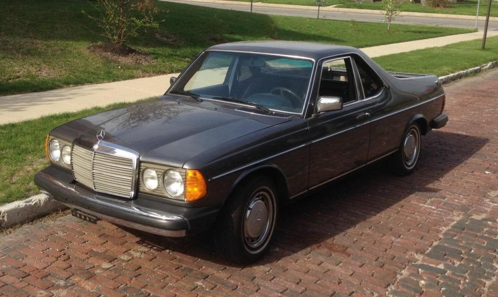211 EBay Post Shows 1979 Mercedes Benz 300 TD El Camino