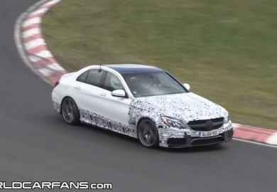 Video Shows Test Of 2015 Mercedes-Benz C63 AMG Sedan