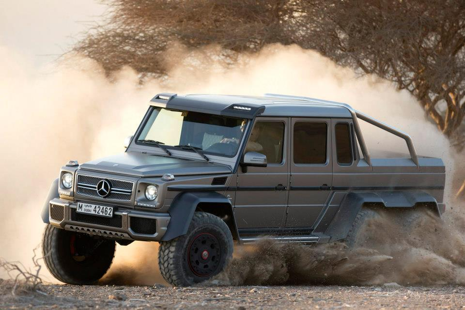 Mercedes-Benz G63 AMG 6x6 To Enter Japanese Market Within The Year