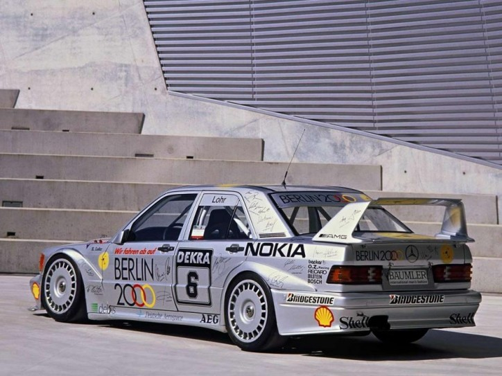 AMG Mercedes 190 E 2.5-16 Evo II driven by Lohr
