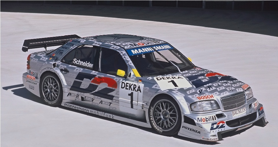 AMG Mercedes C Class DTM car AMG Brand History — A Look at How It All Began