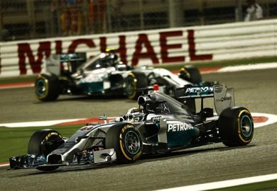 Mercedes-AMG-Petronas-F1-Lewis-Hamilton-wins-2014-Bahrain-Grand-Prix-Nico-Rosberg-second