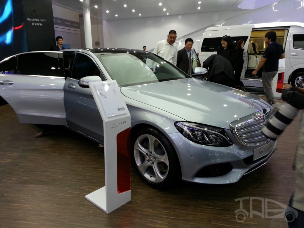 Mercedes C Class LWB 7 2015 Mercedes C Class LWB Model Launched in 2014 Beijing Motor Show