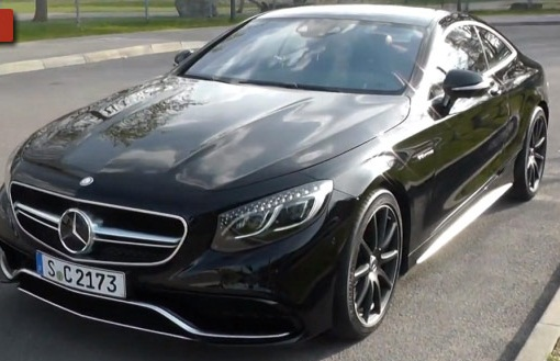 Mercedes S63 AMG Coupe Going Around All Angles of the Mercedes S63 AMG Coupe