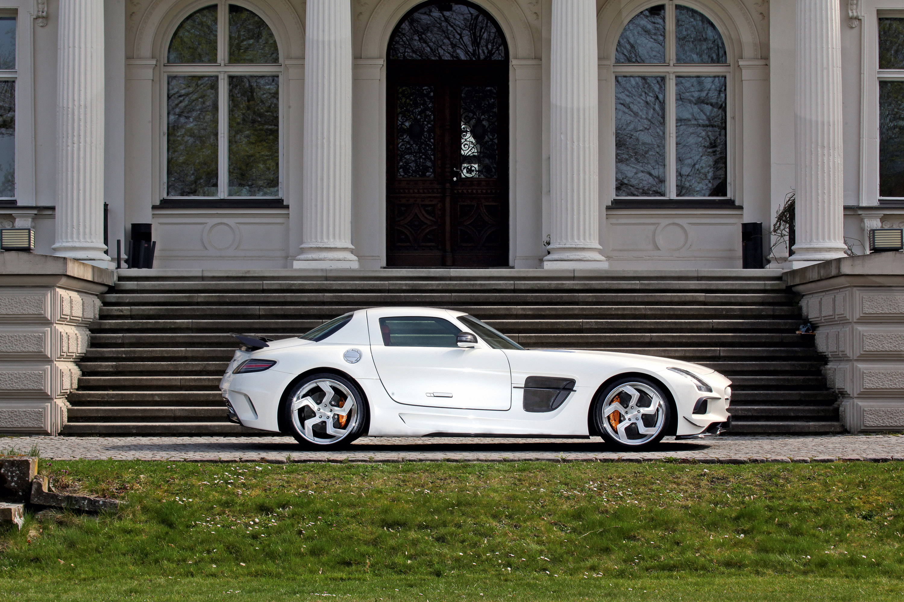 Mercedes SLS AMG 2 SGA Aerodynamics Turns the Mercedes SLS AMG to Black Series