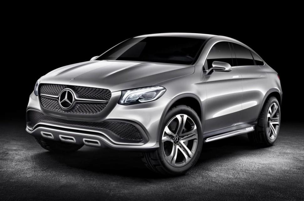 concept coupe suv Concept Coupe SUV Revealed by Daimler CEO