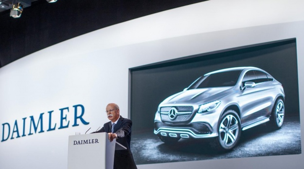 coupe concept suv 1 Concept Coupe SUV Revealed by Daimler CEO