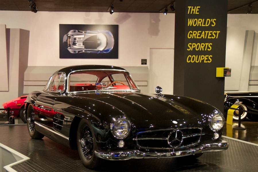 mercedes 300 sl gullwing Petersen Automotive Museum Showcases The Worlds Greatest Sports Coupes