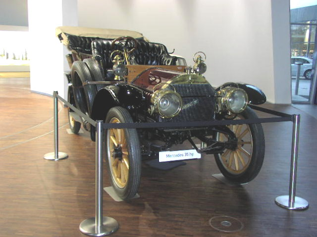 mercedes 35 hp The Mercedes 35 HP — The First of a Superior Breed