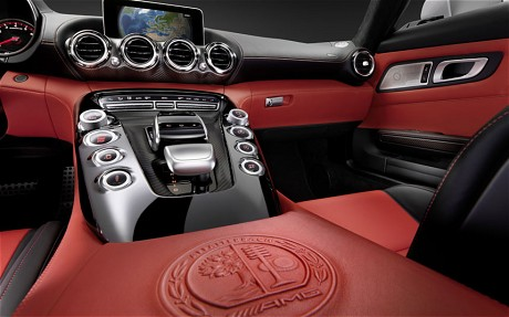 mercedes amg gt interior 1 Revealing the New Mercedes AMG GT Interior