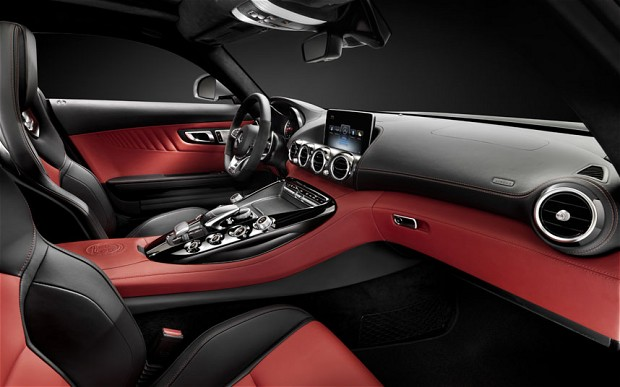 mercedes amg gt interior Revealing the New Mercedes AMG GT Interior