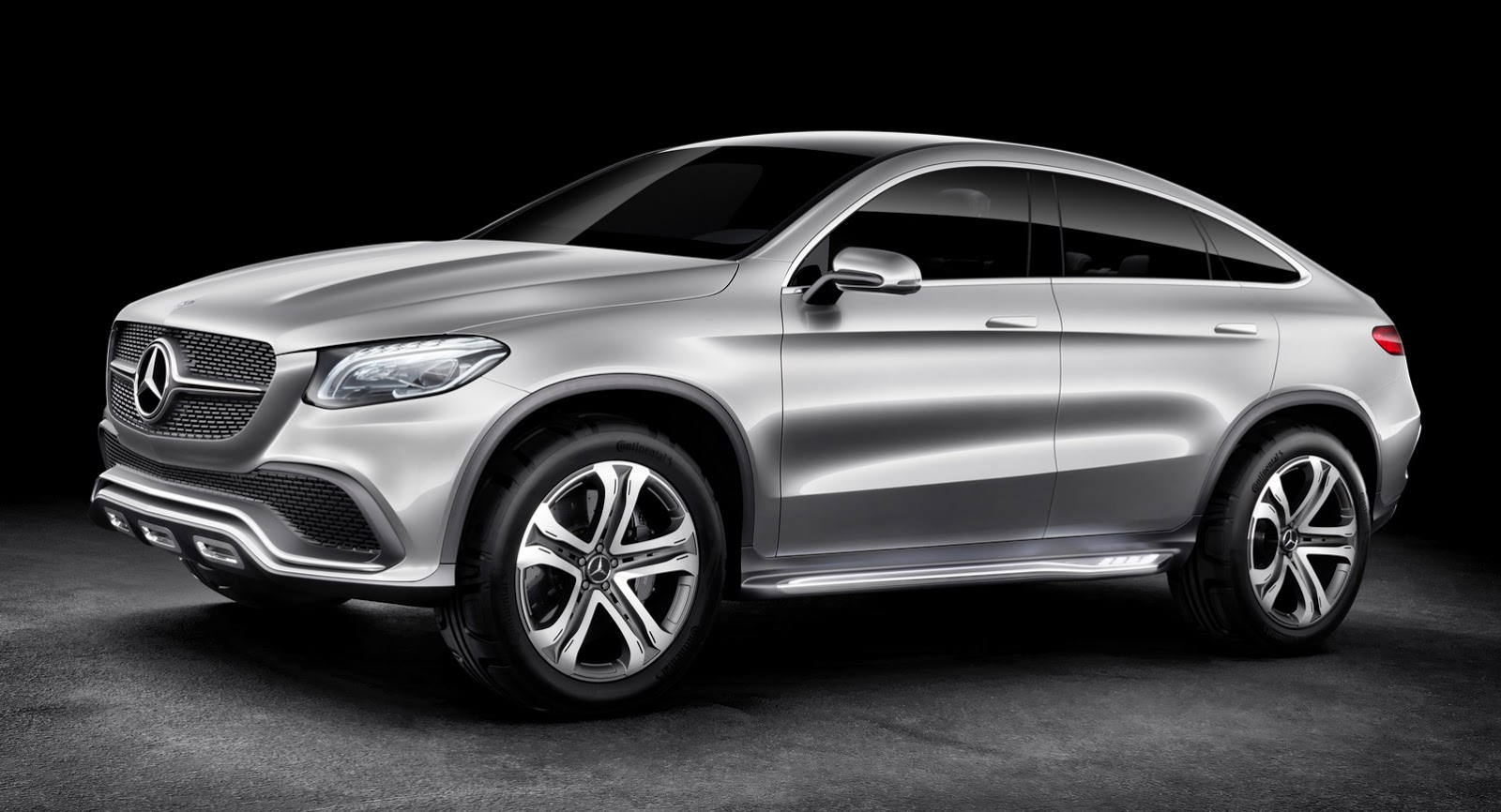 Did Mercedes Concept Coupe Suv Copy The Bmw X6