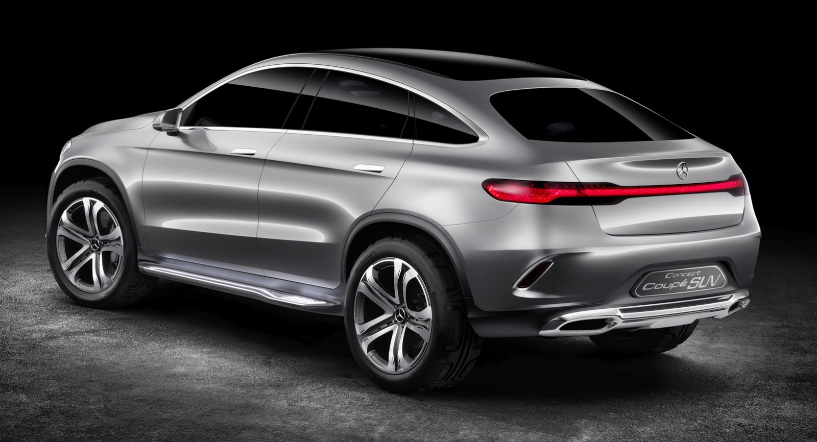 Did mercedes concept coupe suv copy the bmw x6 for Mercedes benz coupe suv