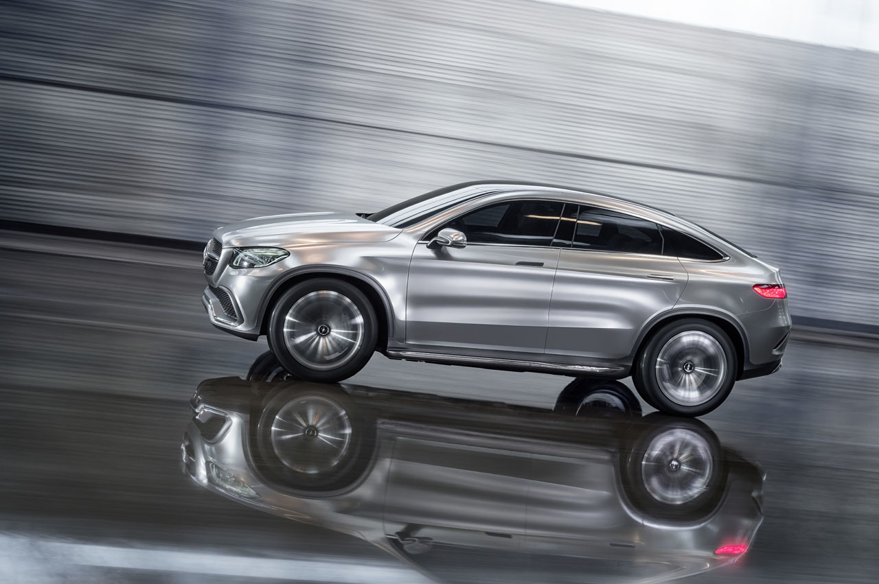Mercedes concept coupe suv revealed in beijing motor show for How much is a mercedes benz suv