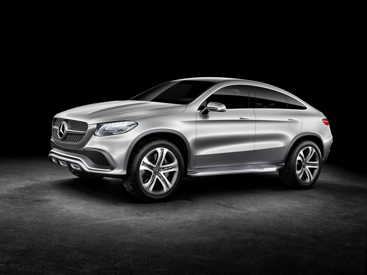 mercedes concept coupe suv revealed  beijing motor show