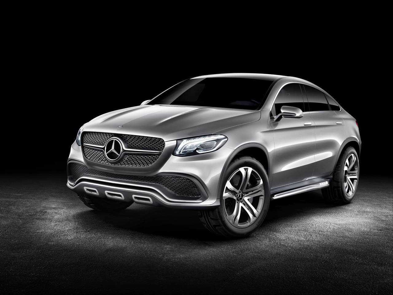mercedes concept coupe suv 5 Mercedes Concept Coupe SUV Revealed in Beijing Motor Show
