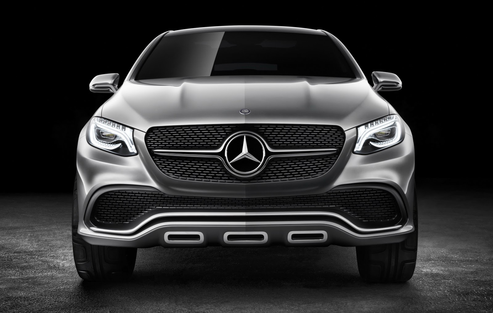 mercedes concept coupe suv Did Mercedes Concept Coupe SUV Copy the BMW X6