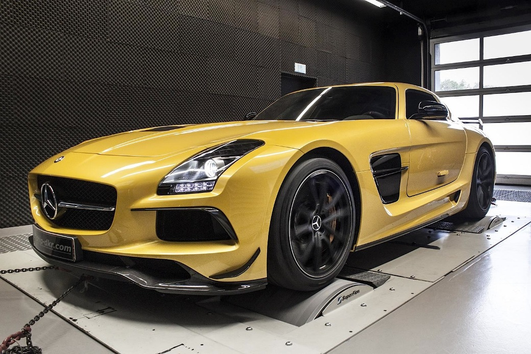 104 Mercedes Benz SLS AMG Black Series Enhanced By Mcchip dkr