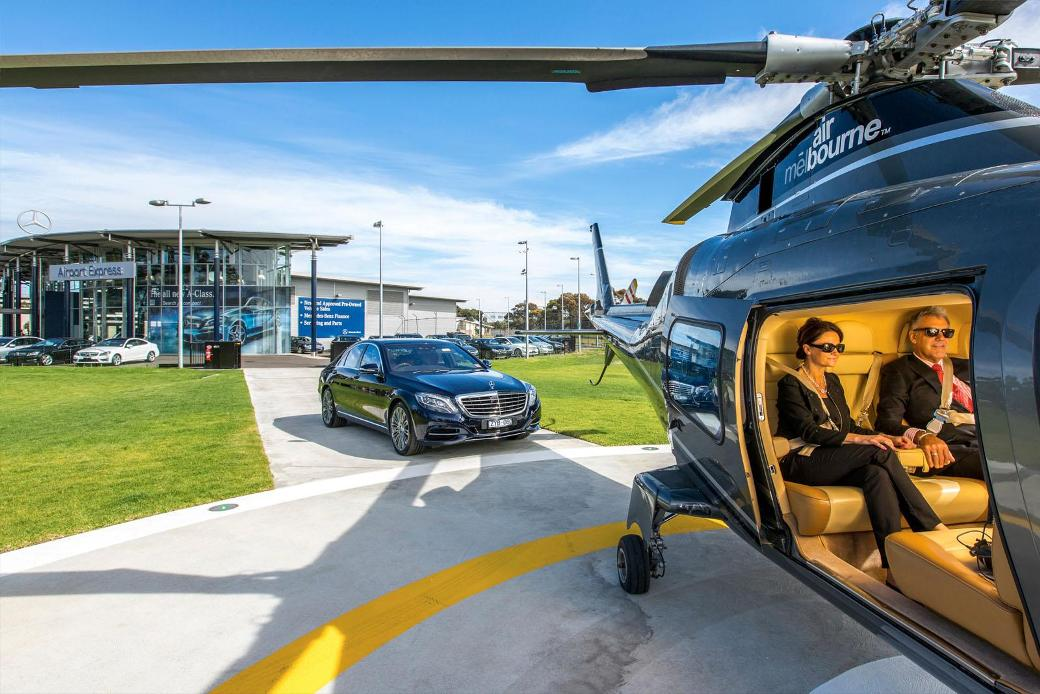 Mercedes-Benz Helicopter Service Offered In Australia