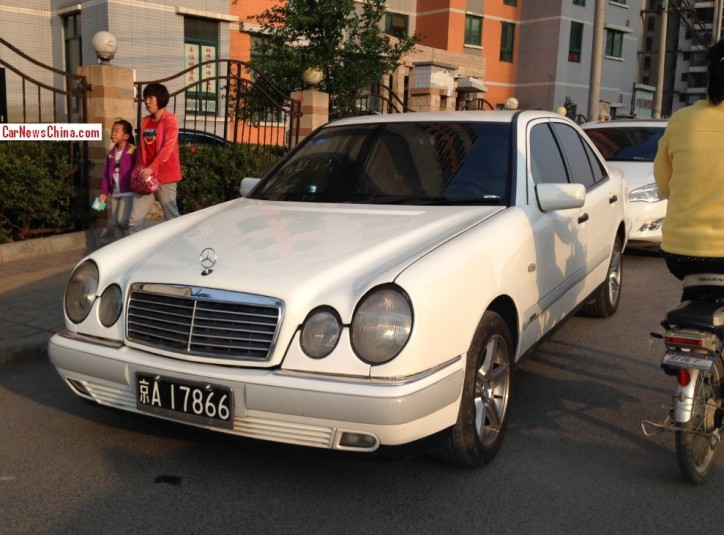 Mercedes-Benz E320 Seen In China