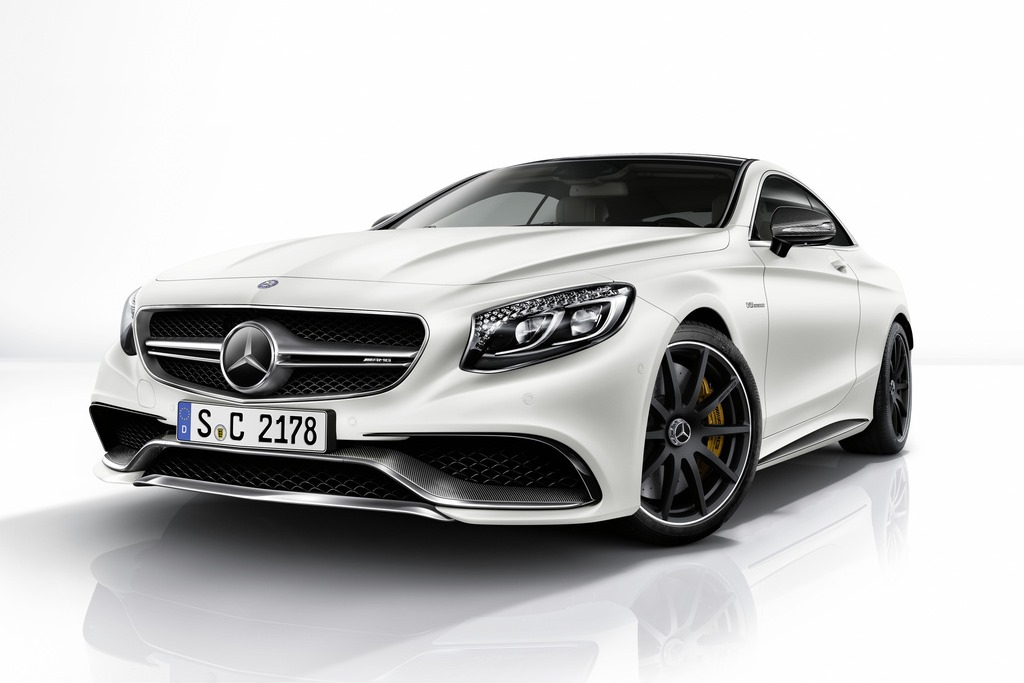 Mercedes-Benz S63 AMG Coupe Enhanced By AMG Performance Studio
