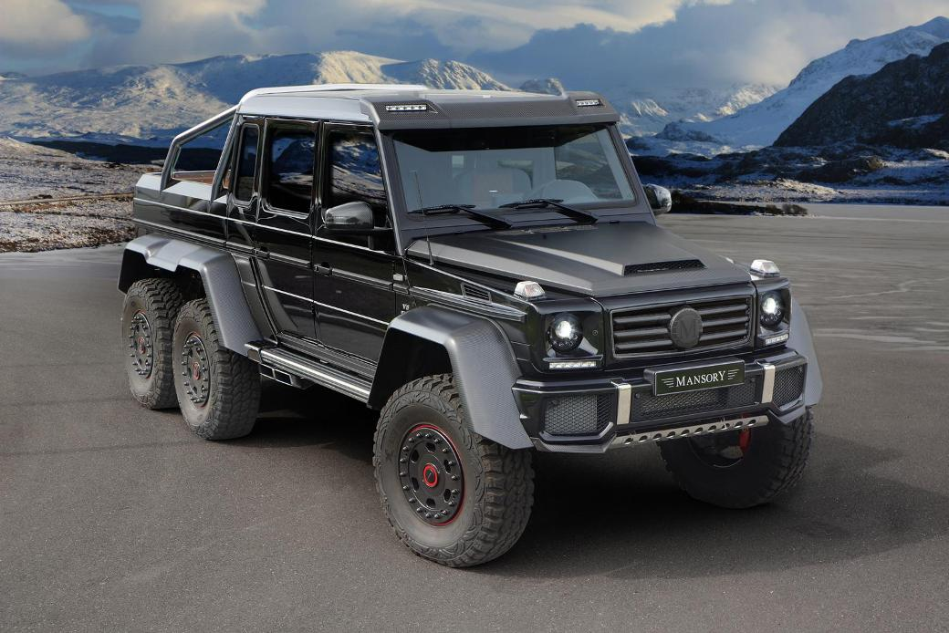 138 Mansory Enhances Mercedes Benz G63 AMG 6X6