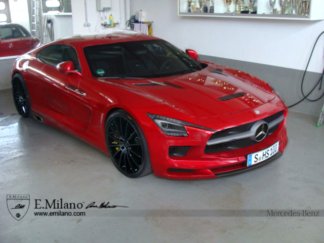 Evren Milano Reveals Rendering Of Upcoming 2015 Mercedes-Benz AMG GT