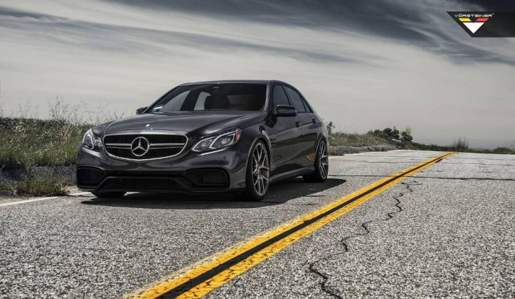 Mercedes-Benz E63 AMG S 4Matic Receives Vorsteiner Wheels