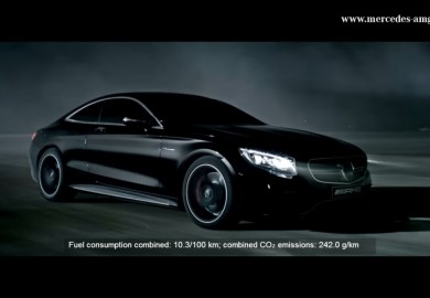 Video Depicts 2014 Mercedes-Benz S63 AMG Coupe As A Beast in The Night