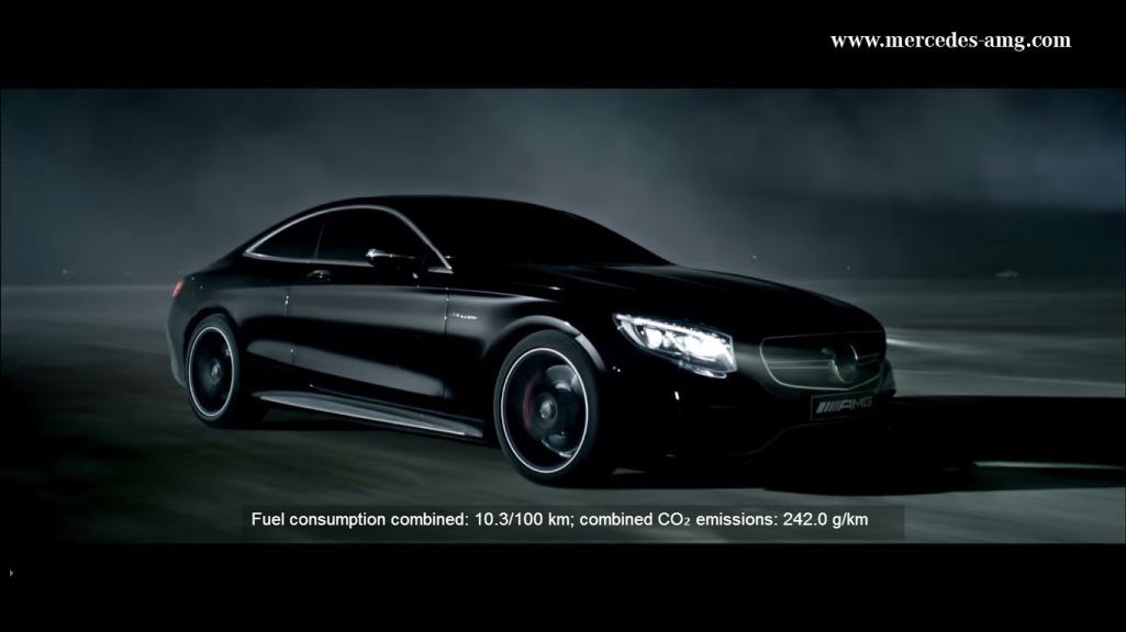 157 Video Depicts 2014 Mercedes Benz S63 AMG Coupe As A Beast in The Night