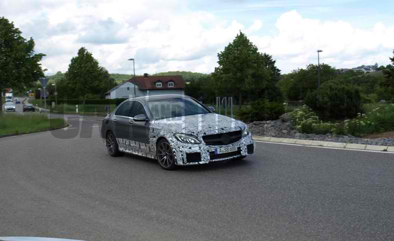 2016 Mercedes C63 AMG 2 2016 Mercedes C63 AMG with Small Package Spied