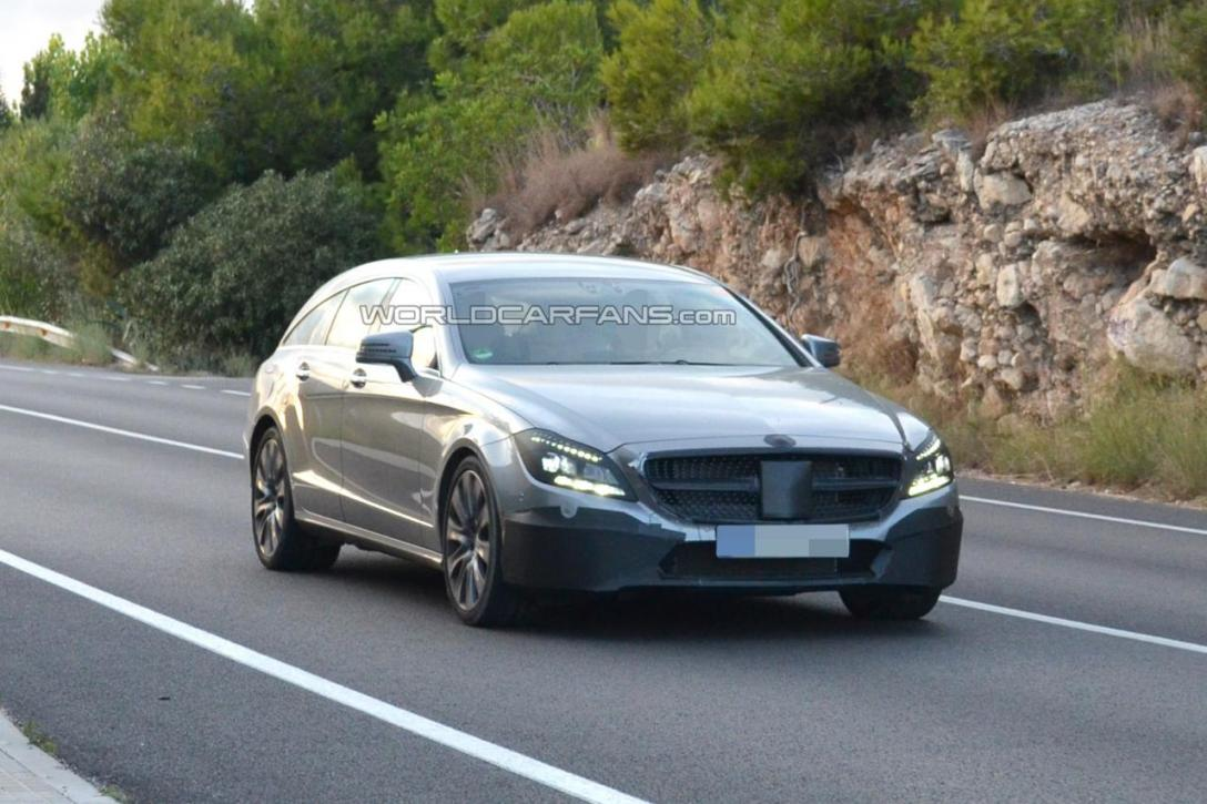2110 Enhanced Mercedes Benz CLS Models To Be Introduced Next Month