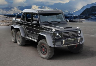 Mansory Enhances Mercedes-Benz G63 AMG 6X6