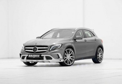 Brabus Modifies Mercedes-Benz GLA