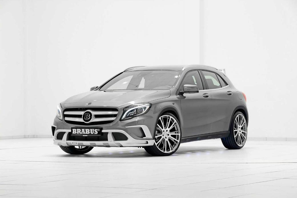 471 Brabus Modifies Mercedes Benz GLA