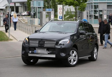 Latest Pictures Of The Upcoming 2015 Mercedes-Benz M-Class