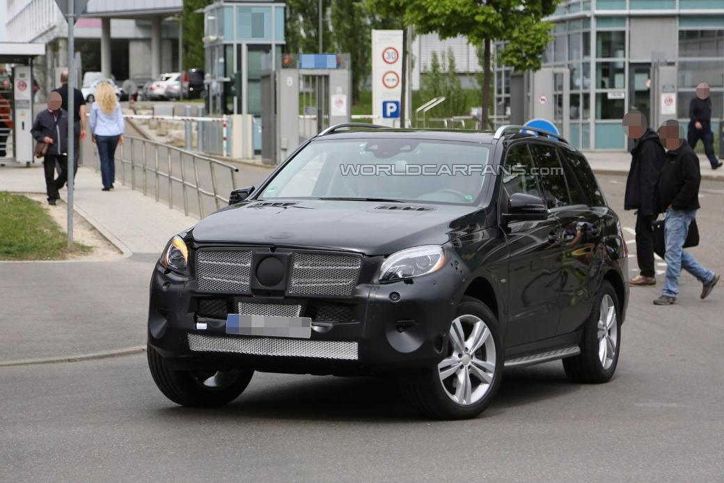 57 Latest Pictures Of The Upcoming 2015 Mercedes Benz M Class