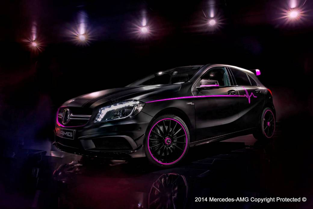 Amg Performance Studio Presents The Mercedes Benz A45 Amg