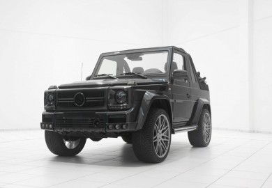 Widestar Treatment Given To Mercedes-Benz G500 Convertible By Brabus