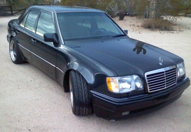 Brabus-Enhanced 1994 Mercedes E500 Available On The Market