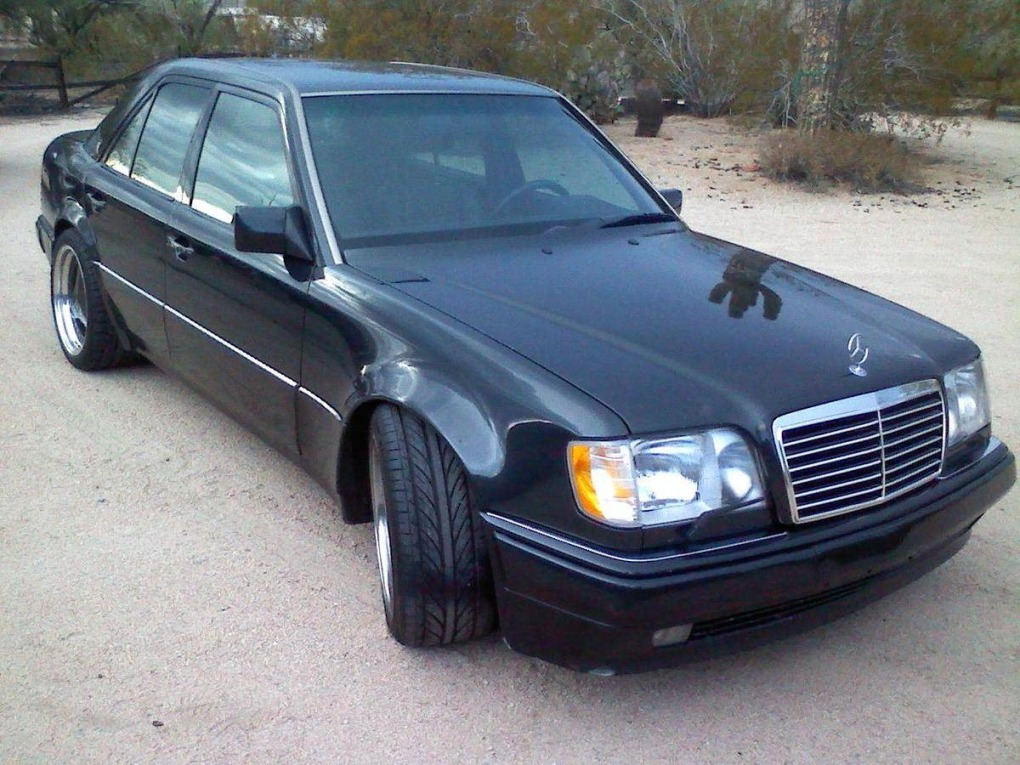 brabusenhanced 1994 mercedes e500 available on the market