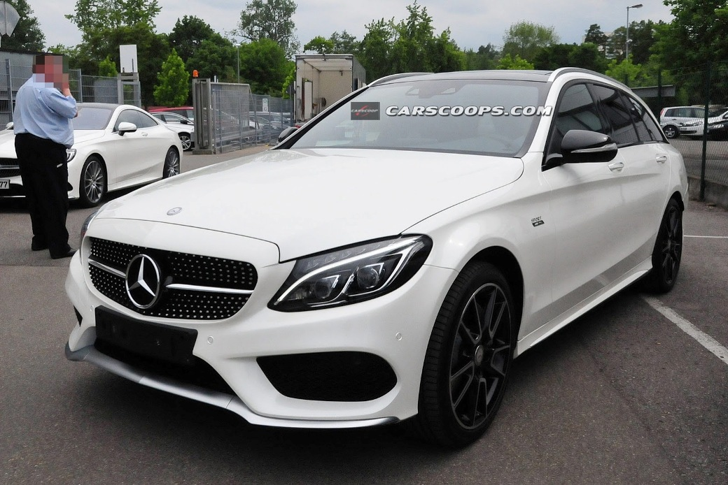 Uncovered Pictures Of Mercedes-Benz C450 AMG Sport