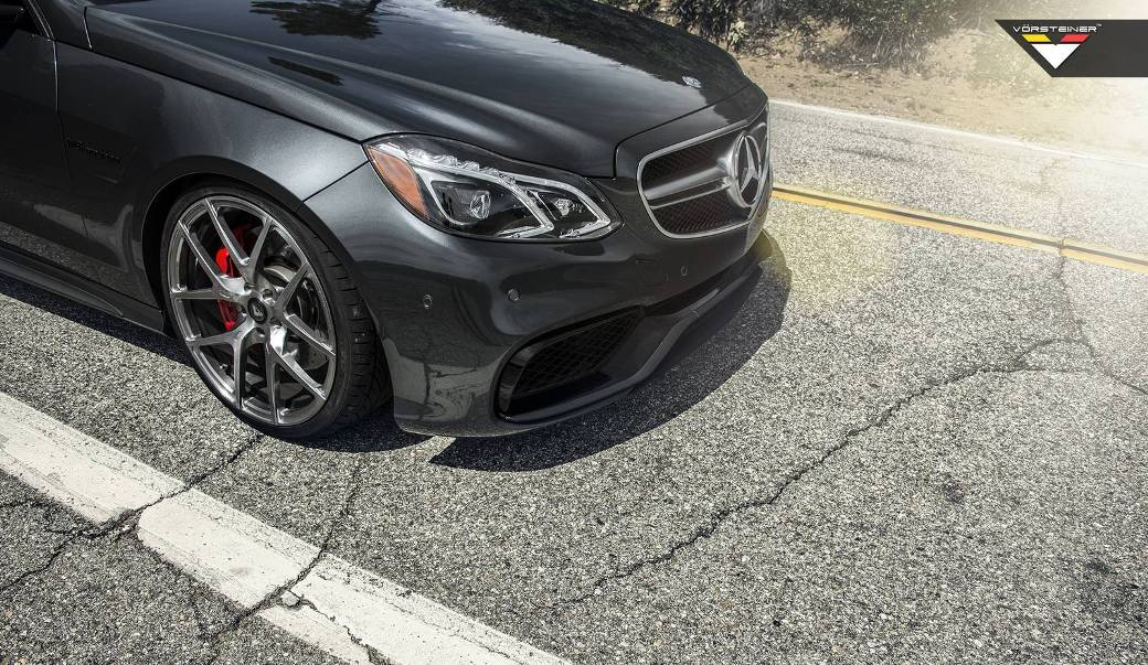 Mercedes Benz E63 Amg S 4matic Receives Vorsteiner Wheels