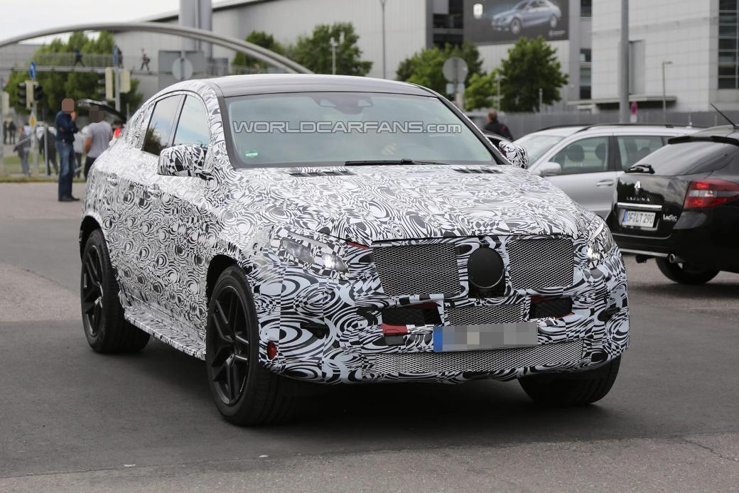 84 Latest Spy Shots Of The Mercedes Benz MLC