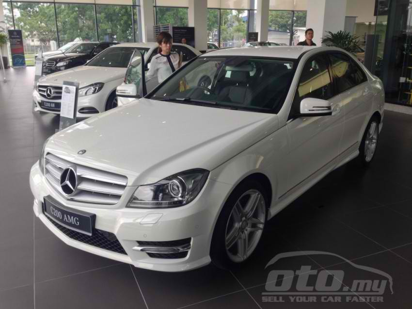 Mercedes Benz C200 Amg Grand Edition 14 Benzinsider