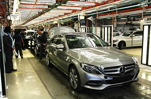 New Mercedes Benz C Class plant starts production No More Subcompact Models for Mercedes Benz